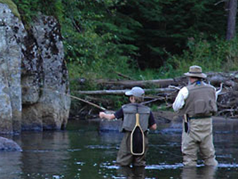 Fly fishing in the adirondacks ny hungry trout resort for Nys fishing seasons